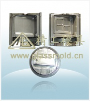 jinggong cosmetic perfume glass container mould