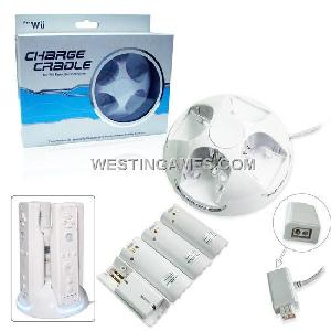 nintendo wii remote controller charge cradle