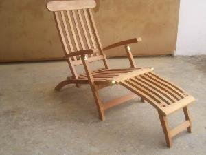 atc 48 jepara bali teak decking steamer lazy chair folding outdoor garden furniture
