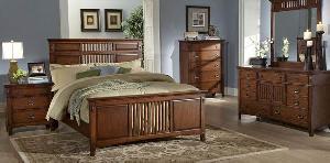 mahogany bedroom wooden indoor furniture