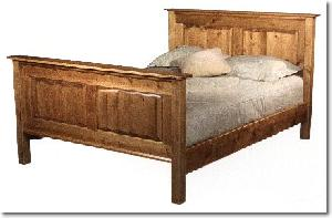 ndf 0025 java bed knock teak mahogany wooden indoor furniture