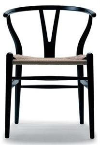 modern wegner y chair solid wood