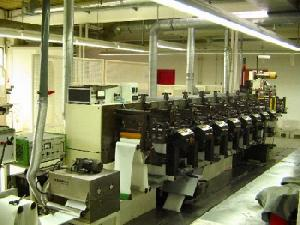 nilpeter f 240 8 units label printing machine