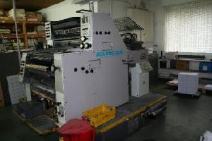 roland 202 colour offset printing machine 1996