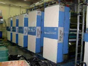 offset kba compacta c 50 commercial printing machine