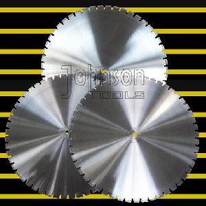 900mm laser welded blade diamond wall