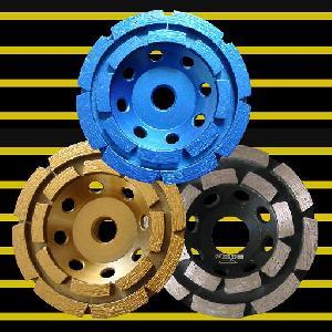 cup wheel 105mm row