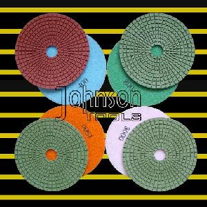 polishing tool 125mm diamond wet pad