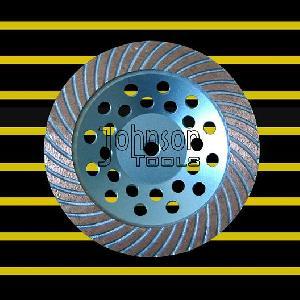 turbo cup wheel 180mm diamond