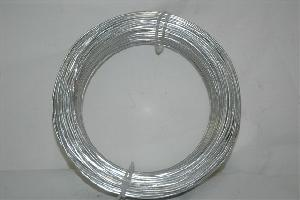 galvanized reel wire silver coil