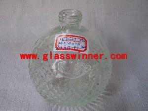 bath suit glass bottle