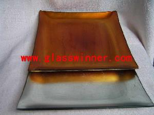 foil glass plate