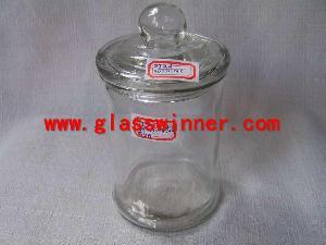 glass jar dome lid
