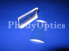 fused silica cylindrical lens