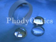 fused silica lens