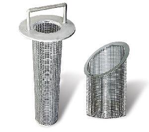 line basket filter