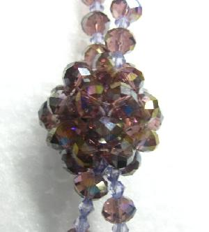 wholesale crystal rondelle ball