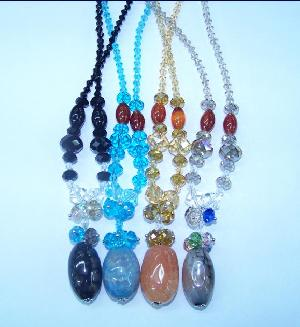 wholesale crystal stone necklace