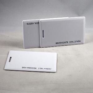 125khz 1 8mm clamshell cards rfid card id