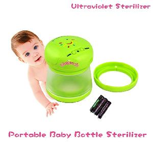 portable baby bottle sterilizer ktr 588 sterilize 5 mins ultraviolet