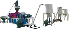 pvc cutting pelletizing line