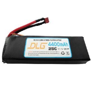 25c 4400mah lithium polymer li po battery rc plane heli car boat
