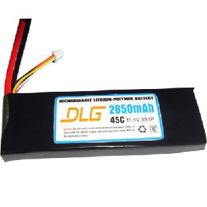 45c 2650mah lithium polymer li po battery rc plane heli car boat