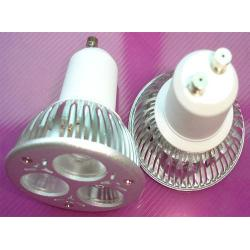 power led spotlight gu10 3 1w
