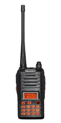 2 radios walkie talkies protable handheld r 988 ht