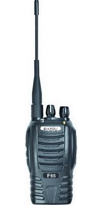 interphones radius handhled radios transceivers r f65