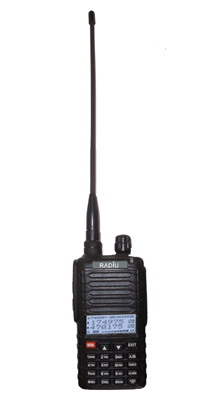 radios uv800 dual frequency walkie talkies band dtmf ptt id convert vhf uhf