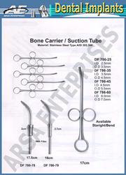 bone carrier suction tube dental implants
