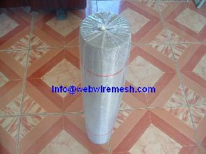 silver aluminum window screen mesh