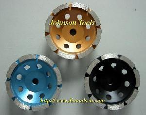 diamond row cup wheel