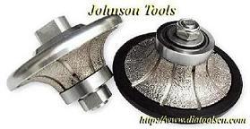 vacuum brazed diamond hand profile wheel