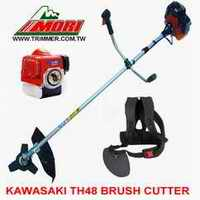 kawasaki th48 brush cutter japan engine