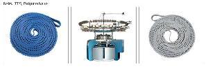 circular knitting machine timing belts tt5 polyurethane