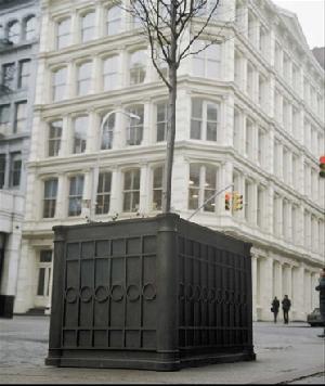 fiberglass planters commercial bronze cities parks penthouse