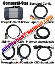 Benz Compact 3 Star Diagnosis Tester 2007 New Version