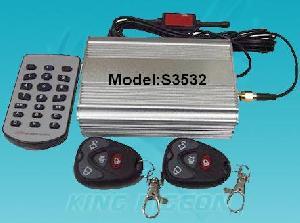 aa king pigeon burglar gsm car alarm system s3532