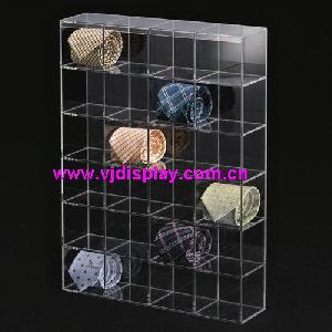 tie display stand acrylic