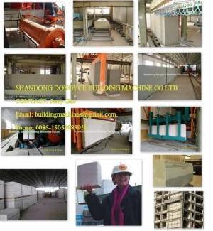 autoclaved aerated concrete brick machine light block