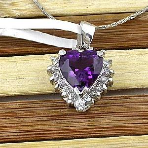sterling silver amethyst pendan moonstone ring ruby earring pendant