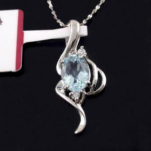sterling silver blue topaz pendant genstone jewelry moonstone ring