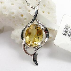 sterling silver citrine pendant earring blue topaz bracelet ring ruby