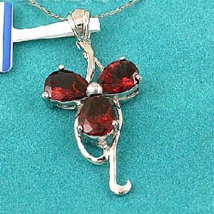 sterling silver garnet pendant blue topaz bracelet moonstone ring jewelry