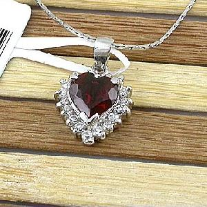 sterling silver garnet pendant prehnite ring olivine tourmaline earring bracel