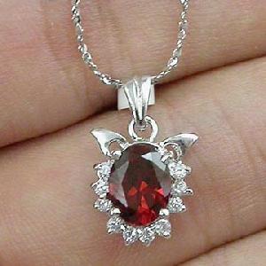 sterling silver garnet pendant sapphire beacelet citrine olivine ring earri