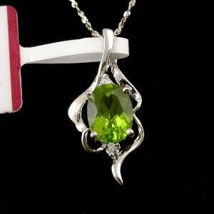 sterling silver olivine pendant amethyst beacelet tourmaline earring jewelry