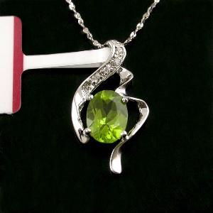 sterling silver olivine pendant ruby ring genstone jewelry amethyst earring